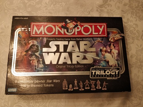 Jogo Monopoly Star Wars 2004 Novo Trilogy Edition Raro