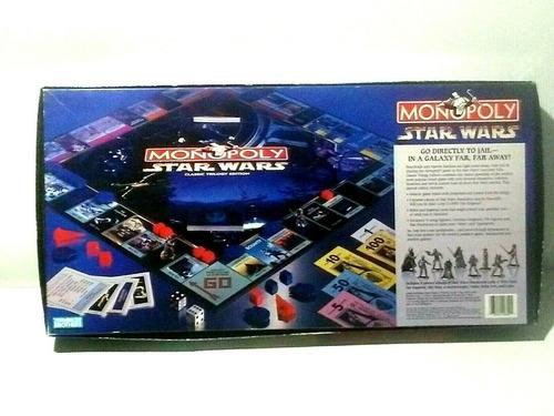Jogo Monopoly Star Wars Classic Trilogy Edition 1997 Lacrado