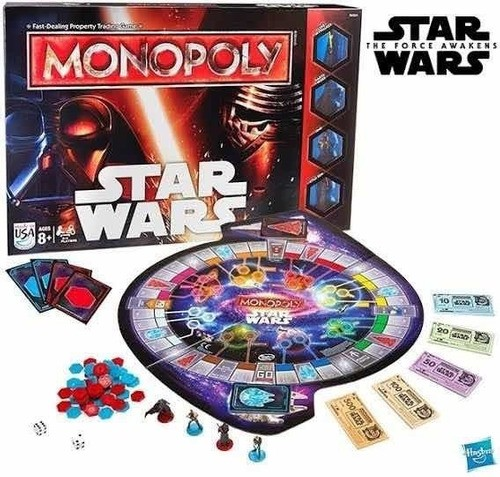 Jogo Monopoly Star Wars Portugues The Force Awaken