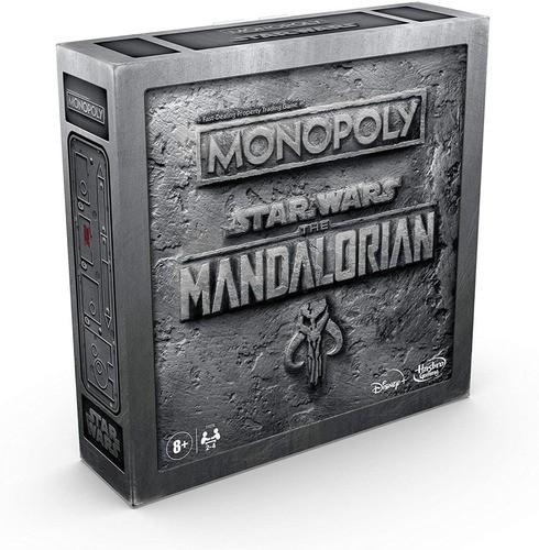 Jogo Monopoly Star Wars The Mandalorian Raro Lacrado