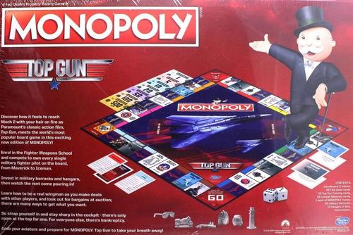 Jogo Monopoly Top Gun Collectors Edition Board Game