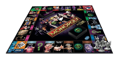 Jogo Monopoly Villains Collectors Edition Disney Lacrado