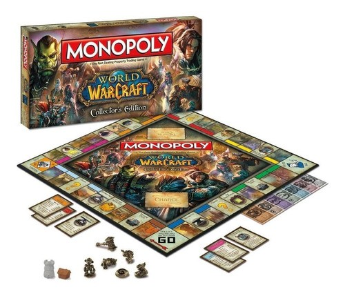 Jogo Monopoly Warcraft Collectors Edition Lacrado