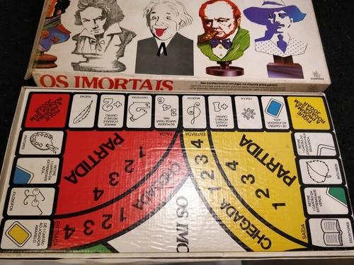 Jogo Os Imortais Copag Década De 70 Único Dono