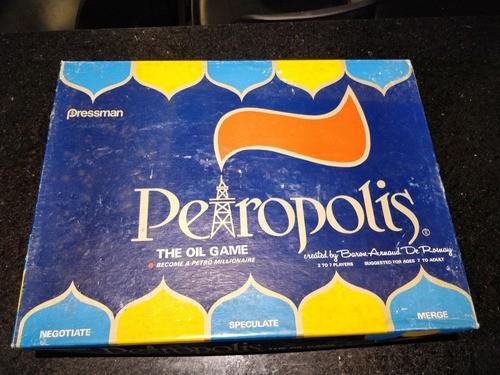Jogo Petropolis Versão Americana Completo Raro Estrela Grow