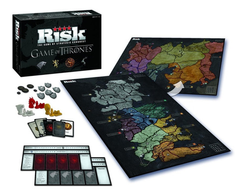 Jogo Risk Game Of Thrones Board Game Novo
