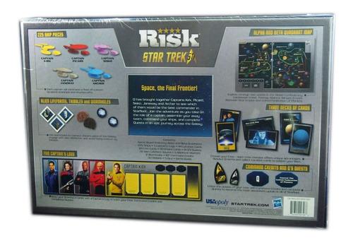 Jogo Risk Star Trek Edição 50 Anos Raríssimo Lacrado