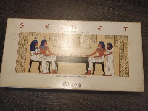 Jogo Senet Athena Completo Raro Anos 90 Unico Dono