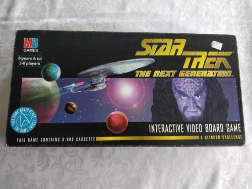 Jogo Star Trek Milton Bradley Rarissimo Completo 1994
