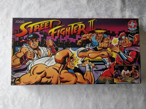 Jogo Street Fighter Da Estrela 1980 Novo 100% Completo