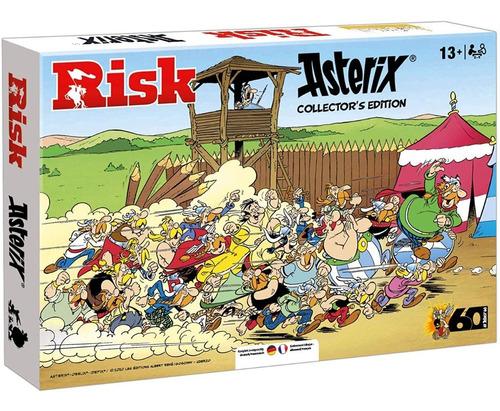 Jogo Tabuleiro Asterix Edição De Colecionador Raro Frances