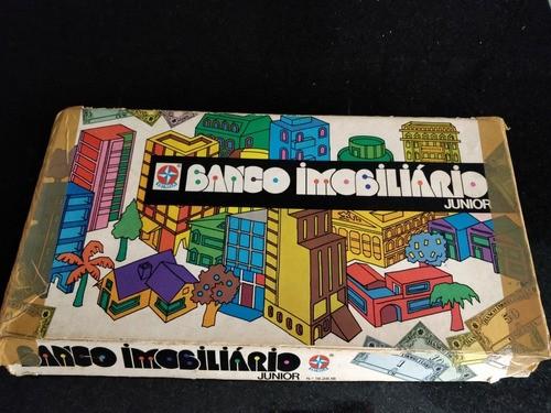 Jogo Tabuleiro Banco Imobiliário Junior Estrela Anos 80