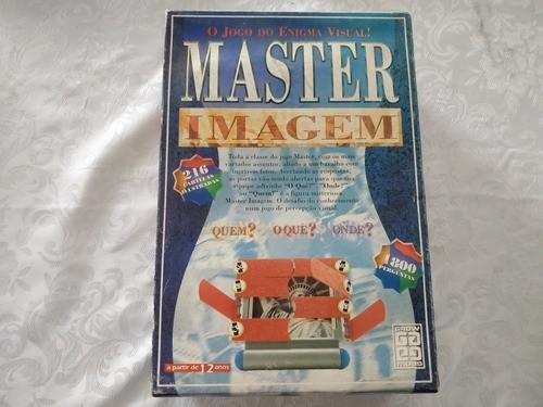Jogo Tabuleiro Master Imagem Grow 100% Completo Raro