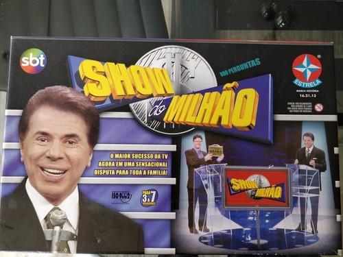 Jogo Tabuleiro Show Do Milhão Estrela Anos 90 Completo