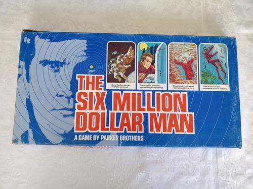 Jogo Tabuleiro The Six Million Dollar Man Novo 1970