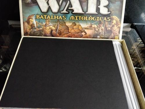 Jogo Tabuleiro War Batalhas Mitologicas Grow Completo