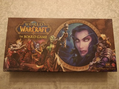 Jogo Tabuleiro World Of Warcraft Board Game Ffg Raro