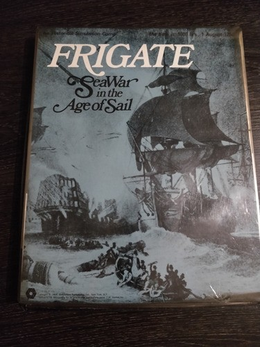 Jogo Wargame Frigate Sea War In The Age Of Sail 1974