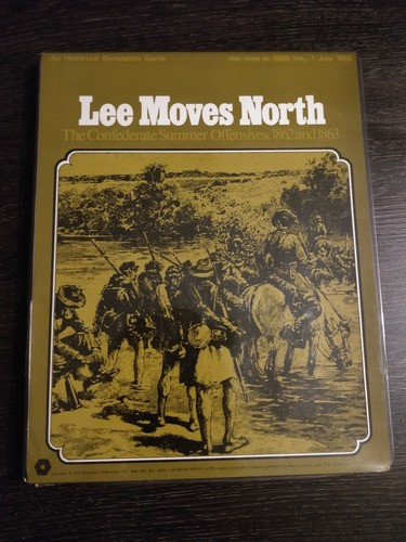 Jogo Wargame Lee Moves North: The Confederate Summer 1972