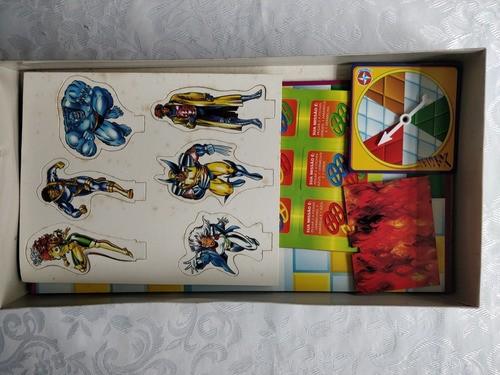 Jogo X-men Da Estrela 1980 Novo 100% Completo