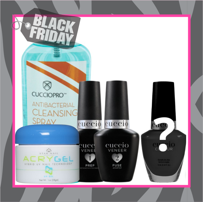 KIT 01 CUCCIO BLACK FRIDAY