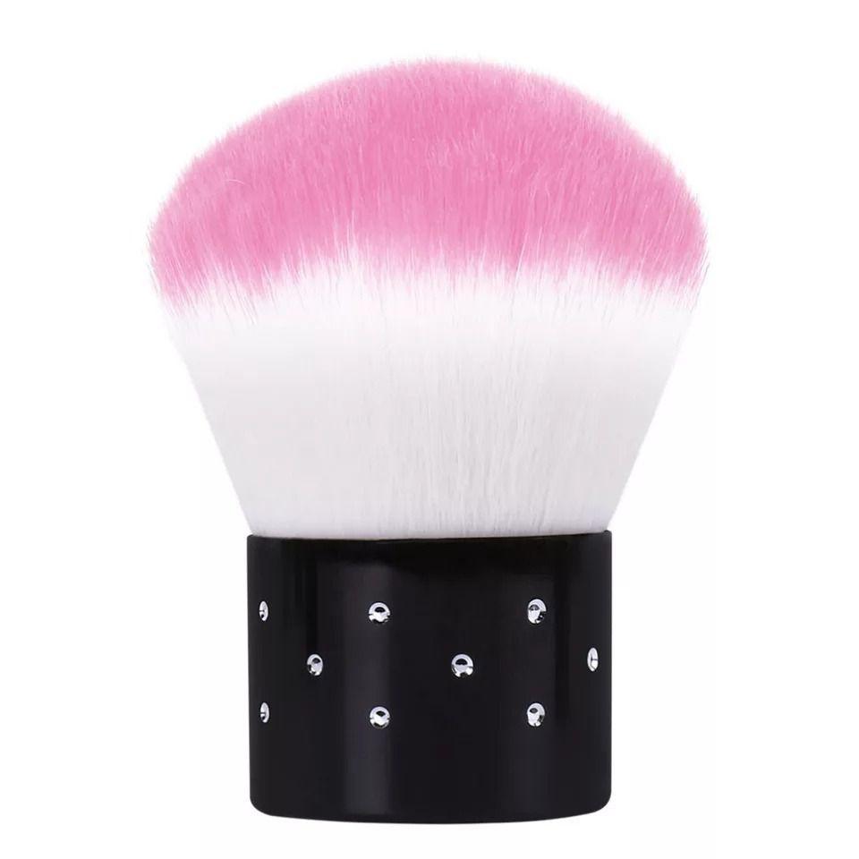 Pincel Espanador Unhas Maquiagem Pó Facial Mini