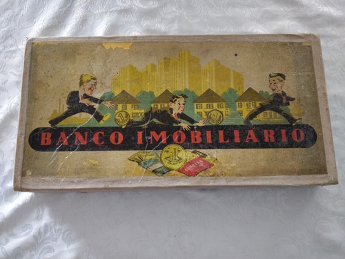 Primeira Edição Banco Imobiliário 1944 100% Completo Raro