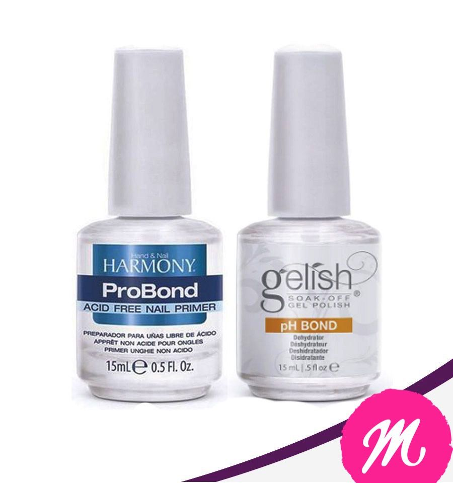 Pro Bond Harmony 15ml + Ph Bond + Gel Pink Builder 14g