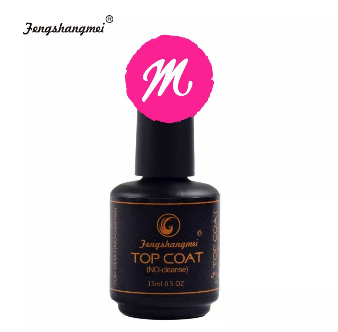 Top Coat Fengshangmei Pretinho do Poder
