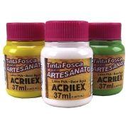 Tinta ACRILEX Fosca p/ Artesanato 37ml