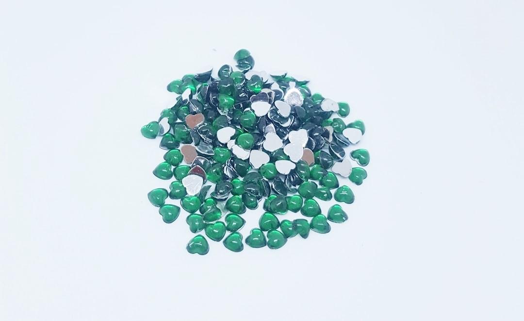Chaton Coração 4x4 Verde Esmeralda