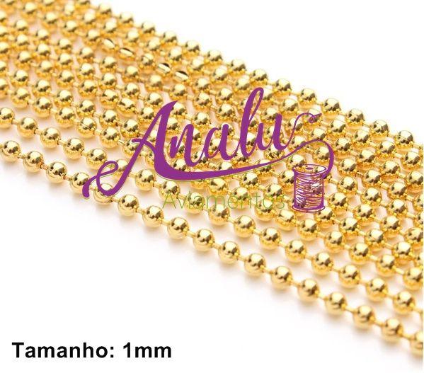 Corrente de Caviar 1mm