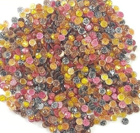 Domme 4mm Glitter