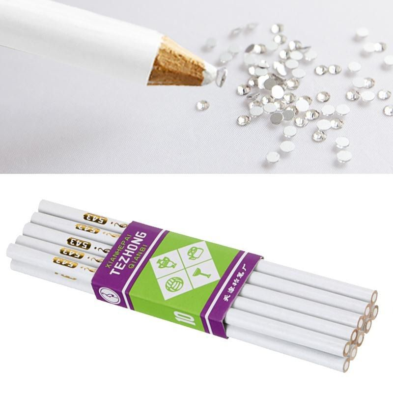 Lápis pega strass