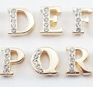 Letra Passante Dourada