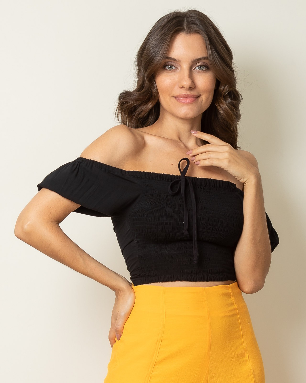 Blusa Cropped Clarice