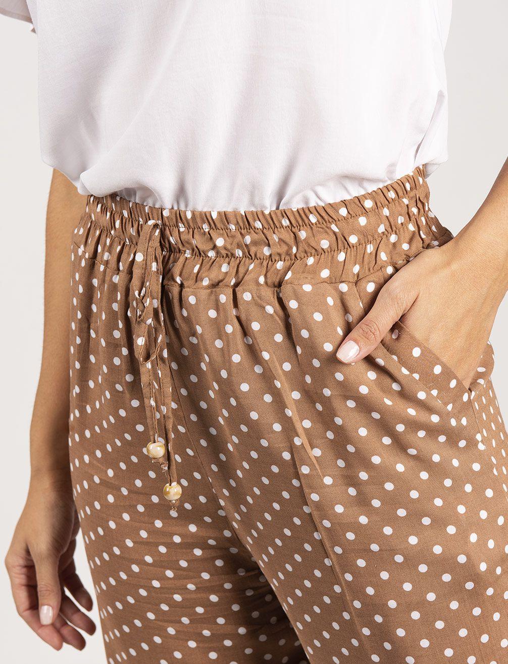 Calça Pijama de Poá