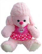 Cachorrinha Poodle Rosa P