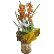 Orquídea Simbidium Decorada