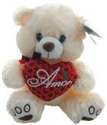 Urso com coração Amor