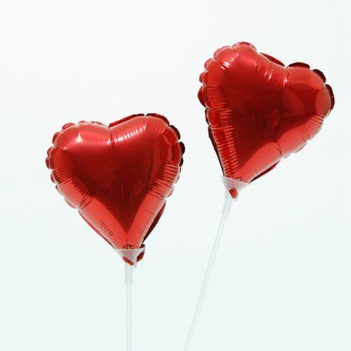 Balao Metalizado em Coração