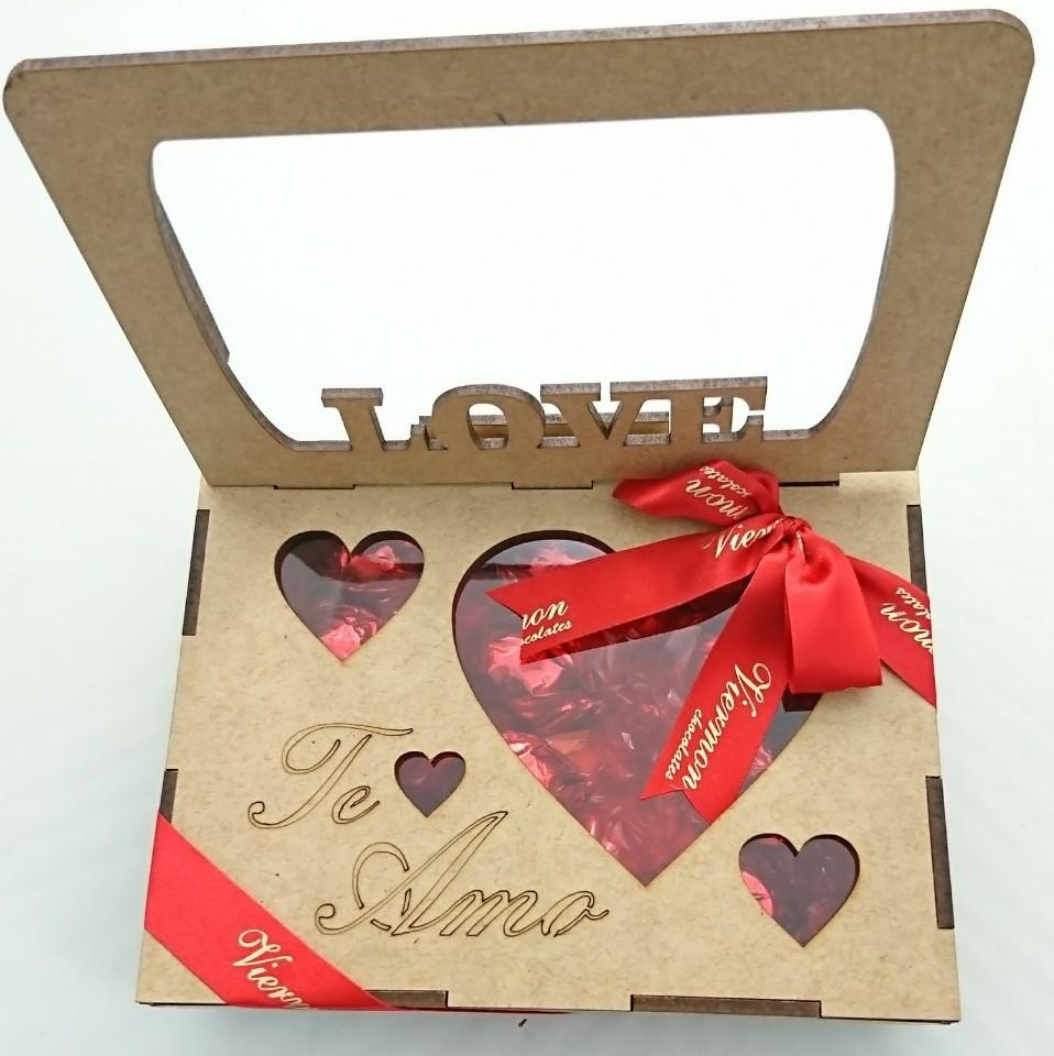 Caixa de Chocolate Porta Retrato