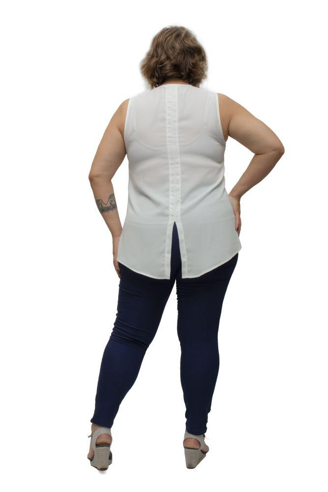 Blusa Regata Duda Plus Size