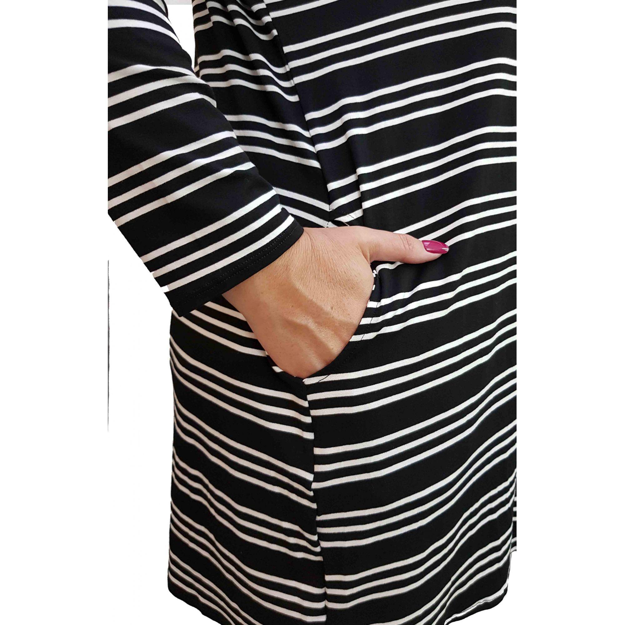 Cardigan Plus Size Floripa 2 Listrado