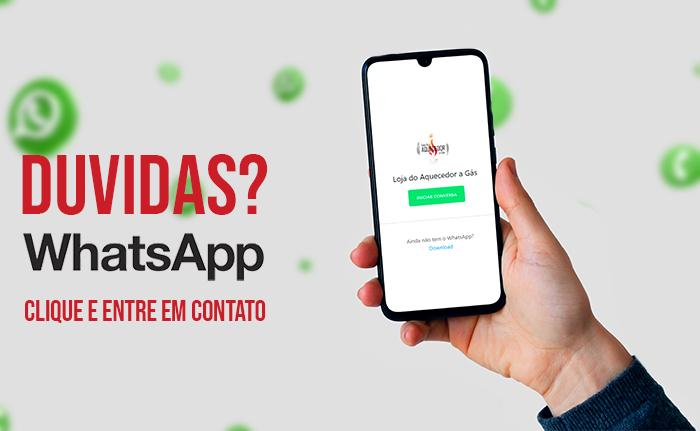 whatsapp aquecedores à gás