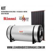 KIT SOLAR Rinnai 500 litros - Alta