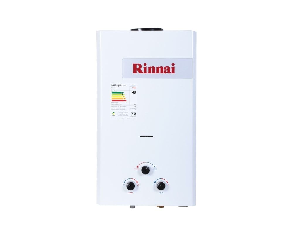 Aquecedor Rinnai 15 litros - à pilha