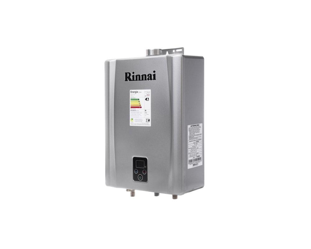 Aquecedor Rinnai E17 FEHG - GLP Gás de Botijão