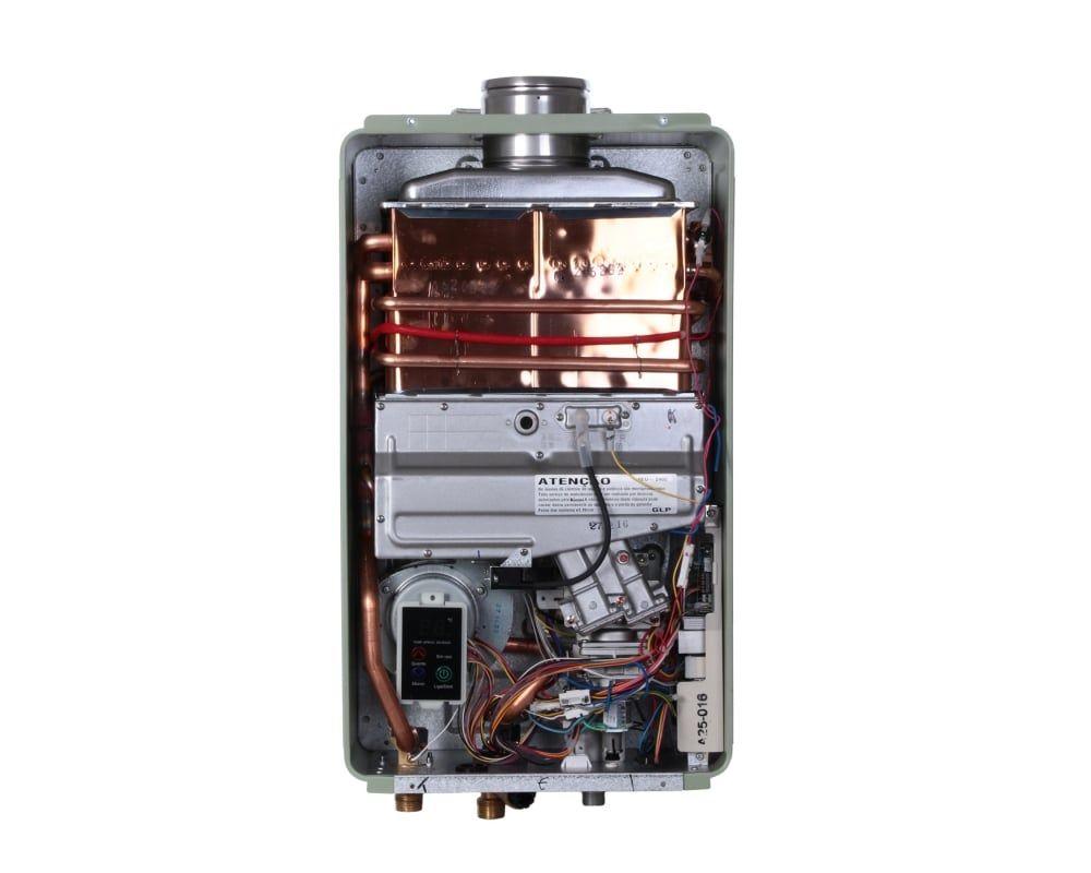 Aquecedor Rinnai Reu 2402 FEH Prata - 32,5 litros