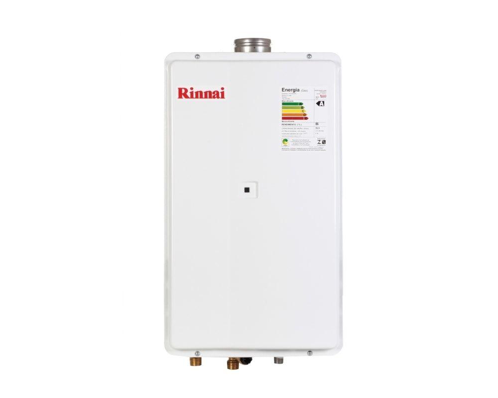 Aquecedor Rinnai Reu 2802 FEC - 35 litros